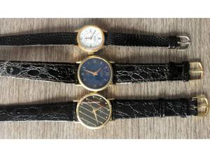 3 vecchio orologio donna uomo funzionanti vintage epoca
