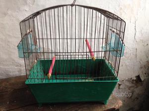 7 - Gabbia vintage per uccelli