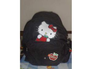 Bellissimo Zaino Hello Kitty Nero Nuovo