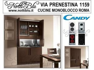 Cucina Salvaspazio Monoblocchi : Cucine monoblocco cottura 2 zone cucina betty posot class
