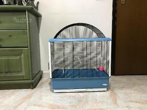 Gabbia gigante per pappagallini e canarino