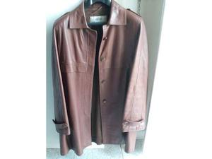 Giacca donna in pelle vintage