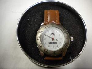 KAPPA orologio originale per uomo in acciaio