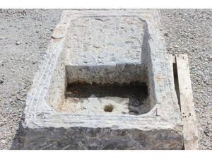 Lavello lavandino in pietra 100x55 h35 con vasca e