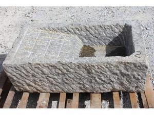 Lavello lavandino in pietra 90x52 h30 con vasca e