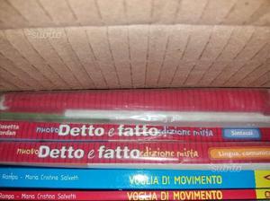 Libri scolastici NUOVO DETTO E FATTO