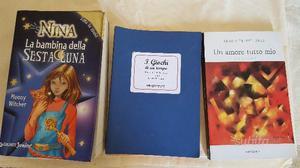 Libri vari da bambini e adulti in perfetto stato