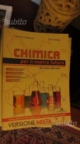 Libro di chimica CHIMICA PER IL NOSTRO FUTURO