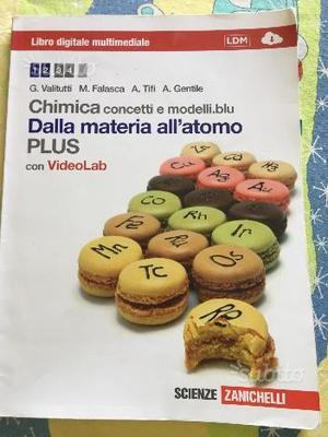 Libro di chimica:chimica concetti e modelli blu