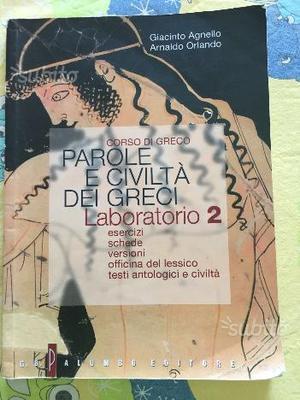 Libro di greco:parole e cività dei greci laborator