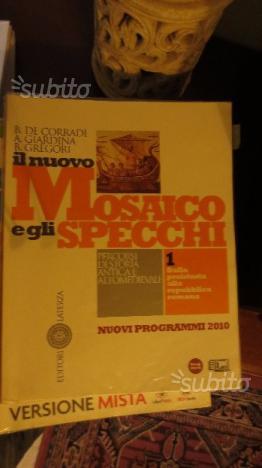 Il Nuovo Mosaico E Gli Specchi.Libro Scolastico Il Nuovo Mosaico E Gli Specchi Posot Class