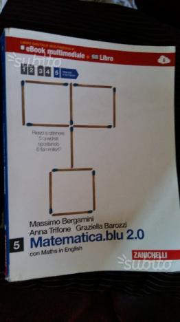 Libro matematica Quarte/Quinte Liceo