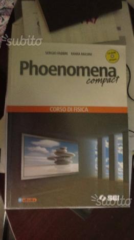 Libro scolastico di fisica PHOENOMENA