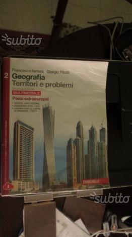 Libro scolastico di geografia Territori e Problemi
