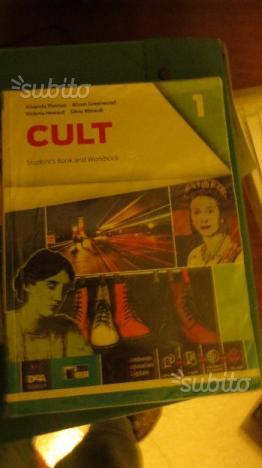Libro scolastico di inglese CULT