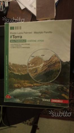 Libro scolastico di scienze #TERRA edizione verde