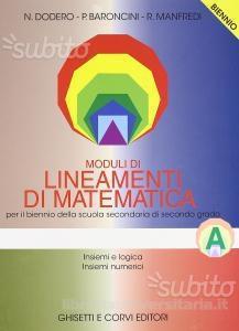 Moduli di Lineamenti di matematica