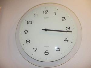 Orologio da parete di vetro (Arte & Cose)