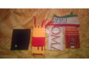 Sciarpe varie della roma e italia e adidas usate ottime