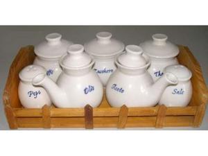 Servizio decorativo in ceramica