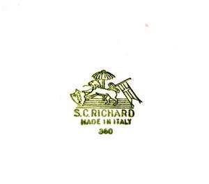 Set da Toilette antico di S.C. Richard (Ginori)