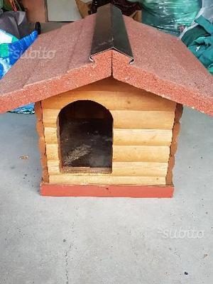 Splendida cuccia a casetta per cani piccola taglia
