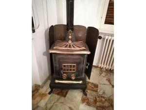 Stufa in ghisa comfort stove posot class for Stufa in ghisa a legna usata