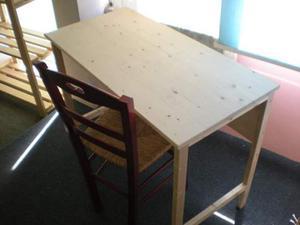 Tavolino in legno Abete