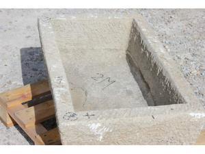 Vendo vasca in pietra granito cm80x52 h30 n.2m lavandino