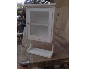 Vetrinetta vetrina pensile per cucina bianca | Posot Class