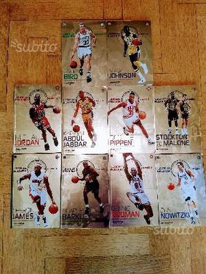 """Volumi collana """"Le stelle della NBA ai raggi X"""""""