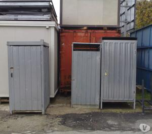 Box usato da cantiere edile in lamiera ct posot class for Box in lamiera usati