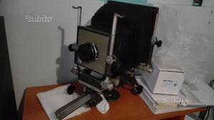 Banco ottico con Schneider kreuznach Symmar 210mm