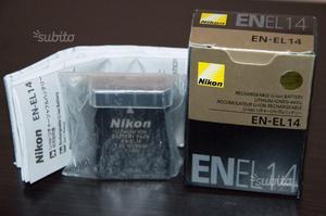 Batteria Nikon EN-EL 14 D D D D