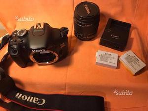 Canon EOS 600D + obiettivo