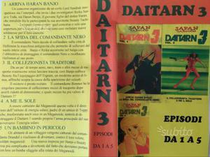 DAITARN 3 - collezione completa della serie