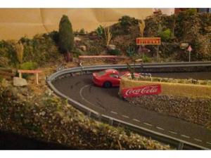 Diorama per modellini auto scala 1:43