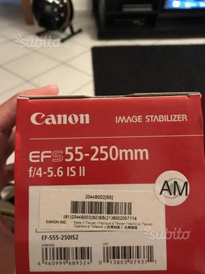 Kit canon 3 obiettivi 1 omaggio