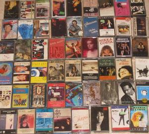 Lotto 50 musicassette pop anni 80