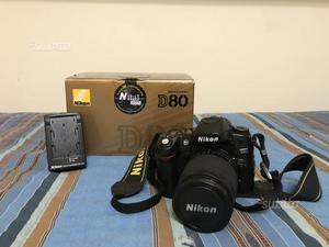 Nikon D80 - obiettivo Nikon  AF