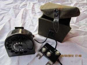 No ww2 combinatore telefono da campo tedesco