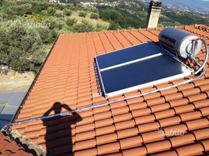 Pannelli solari termici con boiler 150 LT