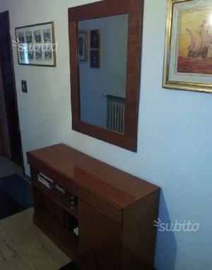 Pettiniera in noce anni 60 euro 850 posot class for Specchio noce