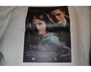 """Rivista Film TV + locandina del film """"Twilight"""""""
