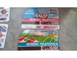 Schede Telefoniche e Ricariche Tim Telecom Vintage