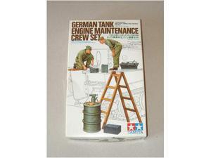 TAMIYA - German Tank Engine Maintenance Crew Set
