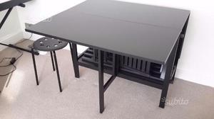 Arredamento ikea tavolo con sedie posot class for Sedie nere ikea