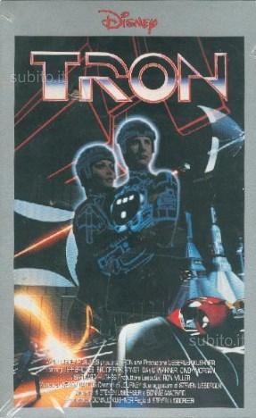 Tron (Film in videocassetta VHS)