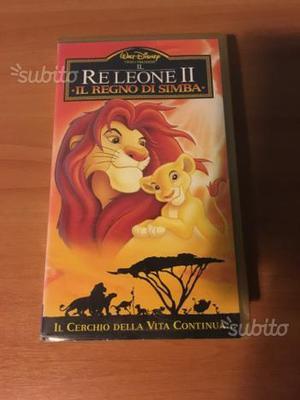 Videocassetta il Re Leone 2originale disney
