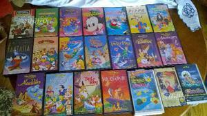 Videocassette VHS Walt Disney e non
